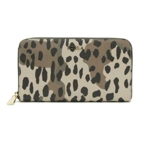 FURLA TONI SAFARI SIDE TO SIDE ZIPPER WALLET